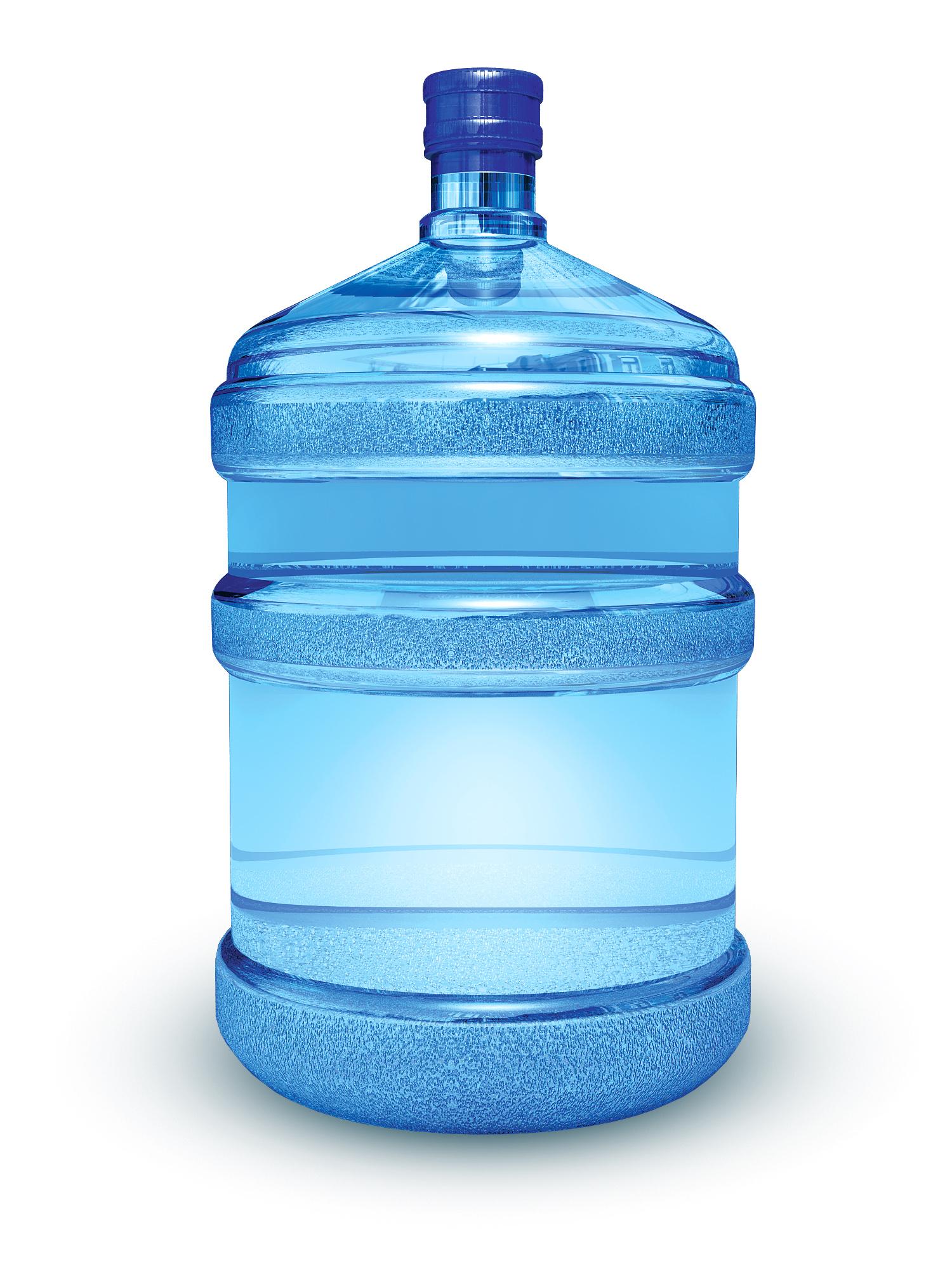 Une bouteille d'eau remplie de bisphénol A