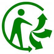 Trier ses déchets: un geste humain